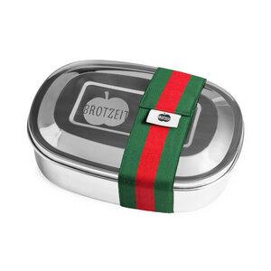 Edelstahl Lunchbox Magic, mit herausnehmbarem Trennsteg - Brotzeit