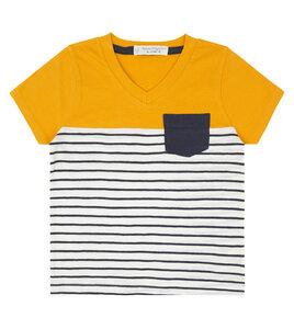 Kinder T-Shirt mit V-Auschnitt - Sense Organics & friends in cooperation with GARY MASH