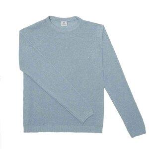 Upgecycelter Pullover aus Denim-Baumwolle Classic - Rifò - Circular Fashion