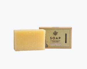 Seife Lavendel, Rosmarin und Minze 140gr. - The Handmade Soap Company