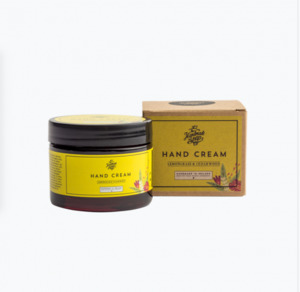 Handcreme Zitronengras und Zedernholz 50ml - The Handmade Soap Company