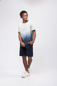 Casual T-Shirt #DIPDYE mint - recolution