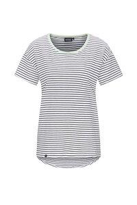 Casual T-Shirt #STRIPES blau-weiß - recolution