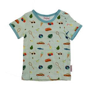 T-Shirt mit Picknickmotiven - Baba Babywear
