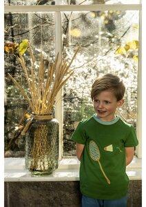 T-Shirt mit Badmintonmotiv - Baba Babywear