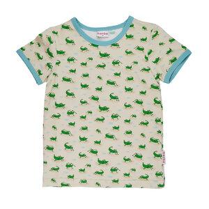 T-Shirt mit Grashüpfern - Baba Babywear