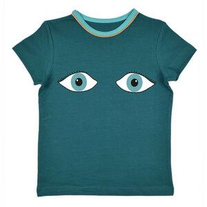 T-Shirt mit Augenmotiv - Baba Babywear