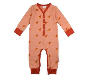 Strampler mit Vogelmotiv - Baba Babywear