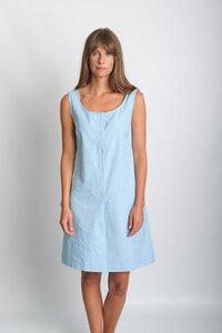 Erine Sleeveless Linen Dress - bibico