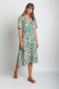 Floral Tea Dress - bibico
