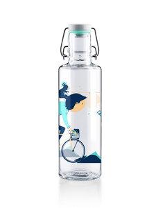 """soulbottle 0,6l • Trinkflasche aus Glas • """"Radler""""  - soulbottles"""