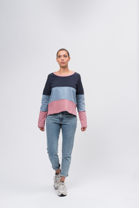 Boxy Sweatshirt #BLOCK - recolution
