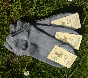 Füßlinge für Damen und Herren (3er Pack) - grödo