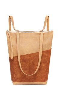 Rucksacktasche aus hochwertigem Leder, 3in1 Bag - ELEKTROPULLI