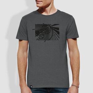 """Herren T-Shirt, """"Aussicht"""" - little kiwi"""