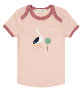 Babyshirt mit Applikation - Sense Organics & friends in cooperation with GARY MASH