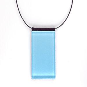 Geometrische Kette mit Glasanhänger | PUREFORM - ALEXASCHA