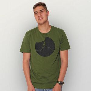 """Klettern"" Männer T-Shirt  - HANDGEDRUCKT"