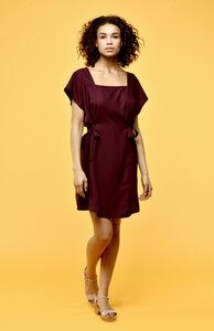Poppy Kleid aus seidigem Tencel - Flowmance