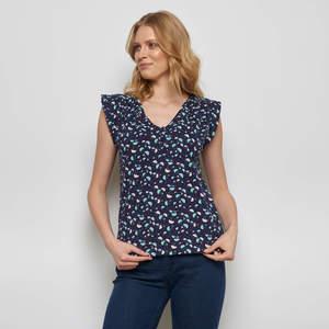 Shirt SHANI aus Biobaumwolle, GOTS-zertifiziert - TRANQUILLO