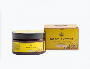 Bodybutter Zitronengras und Bergamotte 180gr - The Handmade Soap Company