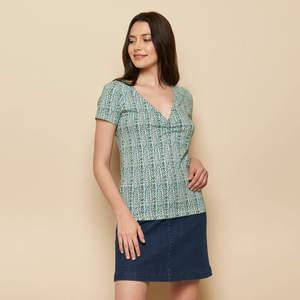 Shirt JULIE aus Biobaumwolle, GOTS-zertifiziert - TRANQUILLO