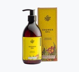 Duschgel Zitronengras und Zedernholz 300ml - The Handmade Soap Company