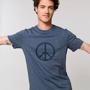 T-Shirt flauschig / Peace - Kultgut