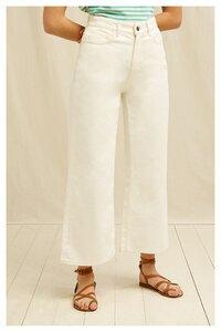 Jeans - Ariel Wide Leg Jeans - People Tree