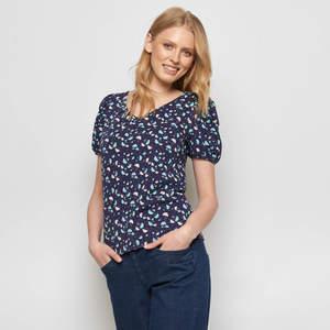Shirt SARAM aus Biobaumwolle, GOTS-zertifiziert - TRANQUILLO