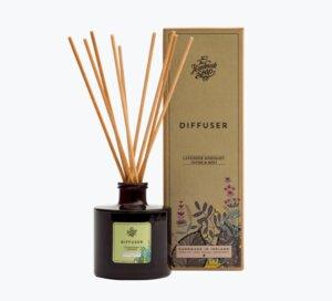 Raumduft Diffuser Lavendel, Rosmarin und Minze180ml - The Handmade Soap Company