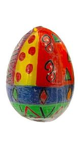 Kapula Eikerze -  Indian Delight & Multicoloured Ethnic - 6x9cm - Kapula Candles