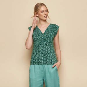 Shirt KALISHA aus Biobaumwolle, GOTS-zertifiziert - TRANQUILLO