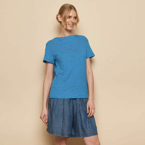 Shirt MABOU aus Biobaumwolle, GOTS-zertifiziert - TRANQUILLO