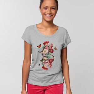 Biobaumwolle  T-Shirt fein & leicht /Garden Eden  - Kultgut