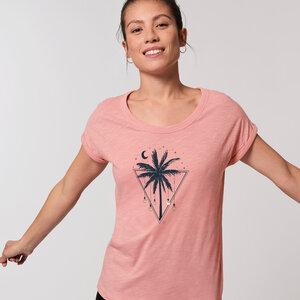 Biobaumwolle T-Shirt fein & leicht / Tropical Light  - Kultgut