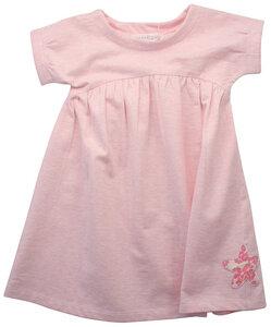 Sweatkleid in rosa mit kleinem Seestern - Serendipity