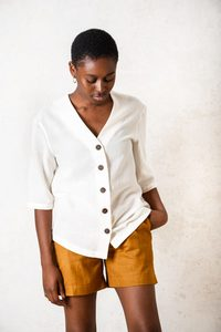 Shirt Barunia Creme - Jyoti - Fair Works