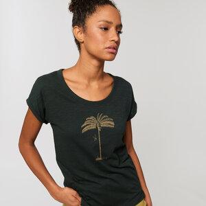 Biobaumwolle  T-Shirt fein & leicht / Oase - Kultgut