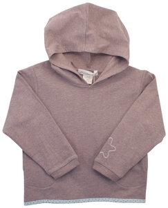 Sweatshirt mit Kapuze bestickt mit einem Stern - Serendipity
