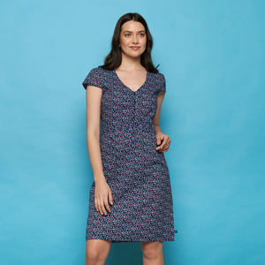 Kleid ZOLILE aus Cambric, GOTS-zertifiziert - TRANQUILLO