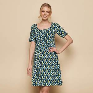 Kleid YAWA aus Biobaumwolle, GOTS-zertifiziert - TRANQUILLO