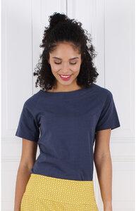 """T-Shirt aus Bambus-Fasern und Bio-Baumwolle """"LA-005 Zoe solid"""" - Lykka du Nord"""