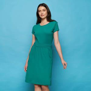 Kleid LEONORE aus Biobaumwolle, GOTS-zertifiziert - TRANQUILLO