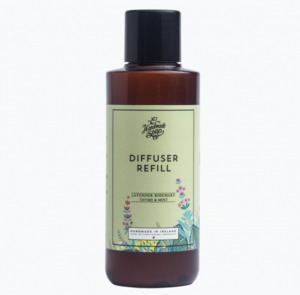 Raumduft Diffuser Refillpack Lavendel, Rosmarin und Minze150ml - The Handmade Soap Company
