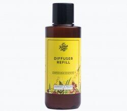Raumduft Diffuser Refillpack Zitronengras und Zedernholz 150ml - The Handmade Soap Company
