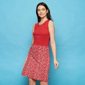 Kleid BELE aus Biobaumwolle, GOTS-zertifiziert - TRANQUILLO