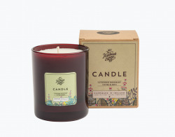 Kerze Lavendel Rosmarin und Minze 160gr - The Handmade Soap Company