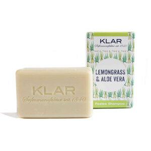 Klar's festes Shampoo Lemongrass & Aloe Vera 100g - Klar Seifen