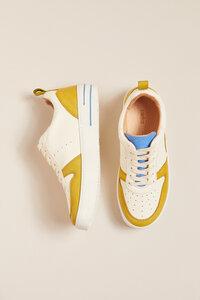 Sneaker aus Leder kiwigold - LANIUS